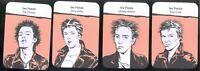 Sex Pistols Complete Card Set of 4 Mint 2018 Jones Cook Sid Vicious Rotten