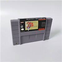 New The Legend of Zelda Game Cartridge Console US Version Nintendo SNES 16 bit