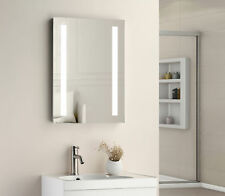 600 x 450 mm LED illuminato Compatto Specchio Del Bagno IP44