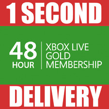 48 Hours-Xbox Live Gold Trial Membership code Pass (2 days) - XBOX ONE/XBOX 360
