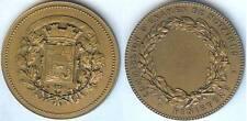 Médaille de table - FINIISTERE commission d'examen des notaires d=50,2mm triangl