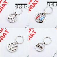 Hollow Auto 3D Car Logo Metal Keychain Key Chain Pendant Holder Key Ring Keyfob