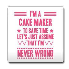 Nunca Rosa mal Pastel Maker Divertido Idea de Regalo Trabajo montaña rusa 034
