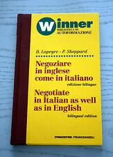 WINNER BIBLIOTECA AUTOFORMAZIONE NEGOZIARE IN INGLESE COME IN ITALIANO bilingue