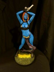 SIDESHOW MYSTIQUE PREMIUM FORMAT CUSTOM STATUE!! ONE OF A KIND