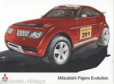 PRESS - FOTO/PHOTO/PICTURE - MITSUBISHI PAJERO EVOLUTION-B