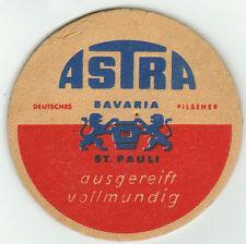 Bierdeckel Bavaria und St. Pauli Brauerei Astra Deutschland Hamburg