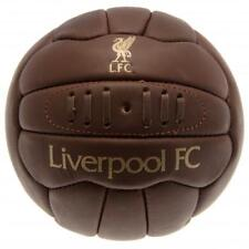 Liverpool FC Retro Leather Vintage Football Size 5 - Official Gift