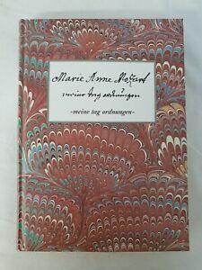 """Marie Anne Mozart, """"meine tag ordnungen"""" Buch"""