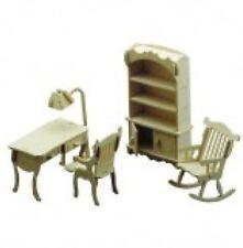 Mobilier pour maison de poupées miniature Bureau