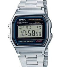 Casio Classic A-158WA Silver Stainless Steel Digital Watch