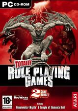 Totally Role Playing Games: Neverwinter Nights & Temple of Elemental Evil PC NEW