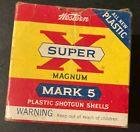 Vintage WINCHESTER WESTERN SUPER X MARK 5 16GA SHOTGUN SHELL Ammo Box EMPTY