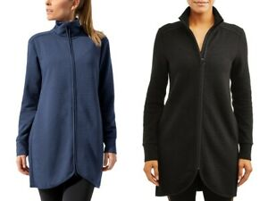 MPG Ottoman Long Jacket, Full-Zip, Athleisure Gear, Colors/Sizes, NWT