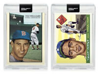 Topps PROJECT 2020 Card Lot #89 Sandy Koufax Naturel #90 Ted Williams Oldmanalan