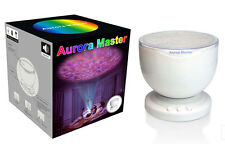New Portable Aurora Master 7 Colorful LED Light Ocean Wave Projector Speaker 897