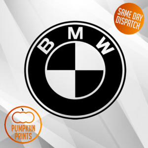 X2 BMW BADGE LOGO Sticker Decal WINDOW BUMPER STICKER M SPORT 1 2 3 4 5 SERIES