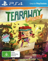 Tearaway Unfolded (PS4) - NEW SEALED - Super Fast Delivery