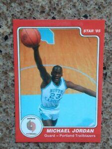 RARE! ERROR Card! 1985 Michael Jordan Rookie Mis-print! Portland Trailblazers
