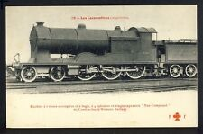 cpa LOCOMOTIVE ANGLAISE TRAIN Chemins de fer CONDON SOUTH WESTERN RAILWAY