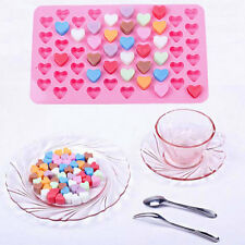 DIY Heart Kuchenform Schokoladeform Chocolate Pink Ice Mold Suger Cake Schimmel