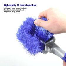 Car Tyre Cleaning Brush Wheel Hub Washing Tool Anti-Slip Soft Handle Cleaner AZ