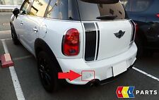 MINI NEW GENUINE COUNTRYMAN R60 S JCW REAR BUMPER TOW HOOK EYE COVER CAP LEFT