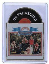 2013 Panini THE BEACH BOYS On The Record Die-Cut Album Insert Card SUNFLOWER