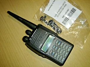 Motorola GP388 UHF 403-470MHz handportable c/w NEW HOUSING battery & antenna