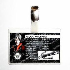 Resident Evil Ada Wong Weapon License Zombie Character Cosplay Prop Comic Con