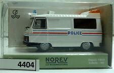 (4404-212) Norev 472106 Peugeot J9 POLICE (Frankreich) top in OVP
