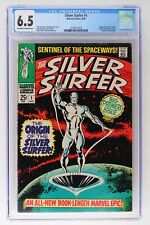 Silver Surfer #1 - Marvel 1968 - CGC 6.5 - Origin of the Silver Surfer!