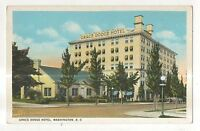 Grace Dodge Hotel WASHINGTON DC Vintage Postcard