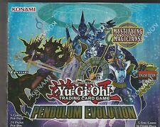 YUGIOH! Factory sealed unopened 1st edition pendulum evolution booster box