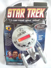 STAR TREK / I CAN READ YOUR MIND/ ARTIFICAL INTELLIGENCE ELECTRONIC GAME/ RADICA