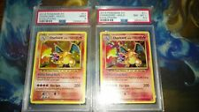 CCC PSA 8.5 & 9 Foil Charizard - 2016 Evolutions - Red Bleed