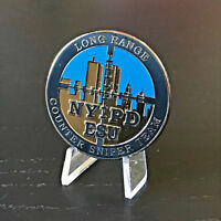 C5 NYPD Emergency Service Unit Counter Sniper Team Police Challenge Coin