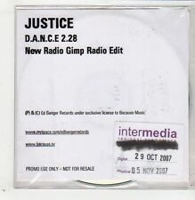 (GB746) Justice, D.A.N.C.E. - 2007 DJ CD