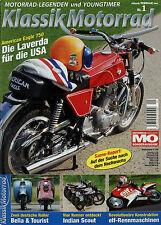 Klassik Motorrad 1/07 2007 American Eagle 750 Hoffmann Gouverneur Zündapp Bella