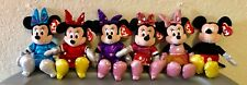 Ty Beane Babies Disney Mickey&Minnie Mouse Collection