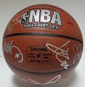 2008-09 Utah Jazz Team Signed Basketball w/14 Signatures Jerry Sloan