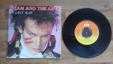 "Adam & las hormigas-Ant Rap - (sin abrir ventana manga) 7"" CBS Records solo 1981"