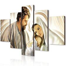 Lupia Vogue quadro Multipannello Nativity Brown legno Multicolore 66x115x0...