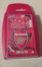 TOP TRUMPS - PREMIER LEAGUE FOOTBALL EDITION ARSENAL 2013/14 NEW & SEALED