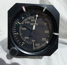 Airliner Mach Airspeed Indicator Gauge Instrument ,  0-500 Knots NICE!