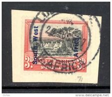 SOUTH WEST AFRICA, 1927 3d on small piece VFU (D)