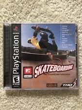 MTV Sports Skateboarding (PlayStation, 2000) PS1 - Complete Tested & Working!