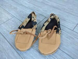 vintage MOCCASINS trading post HANDMADE leather NATIVE AMERICAN womens 7
