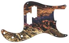 P Bass Precision Pickguard Custom Fender 13 Hole Guitar Pick Guard Desert Rock