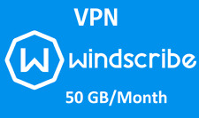 Windscribe VPN lifetime account, 50GB every month